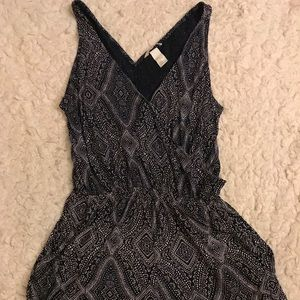 H&M Romper with pockets